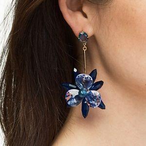 Kate Spade blooming brilliant statement earrings